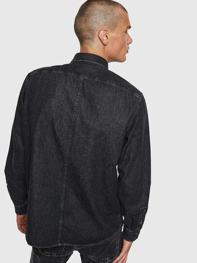 Diesel - D-BANDY-B, Negro - Camisas de Denim - Image 2
