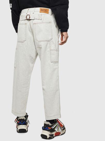 Diesel - D-FRAK, Blanco - Pantalones - Image 2