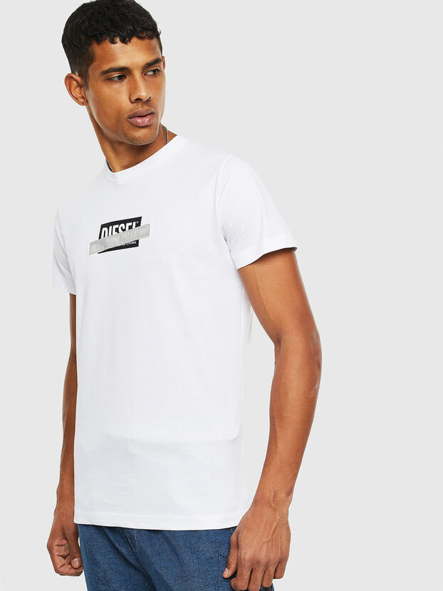 T-DIEGO-S7, Blanco - Camisetas