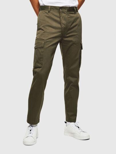 Diesel - P-JARED-CARGO, Verde - Pantalones - Image 1