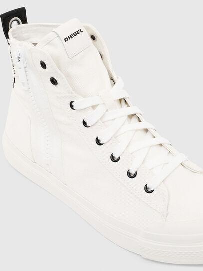 Diesel - S-ASTICO MID ZIP, Blanco - Sneakers - Image 4
