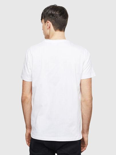 Diesel - T-DIEGO-S15, Blanco - Camisetas - Image 2