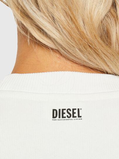 Diesel - F-ANG-R10, Blanco - Sudaderas - Image 3