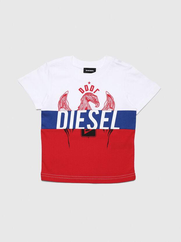 TRICKYB-R, Blanco/Rojo/Azul - Camisetas y Tops