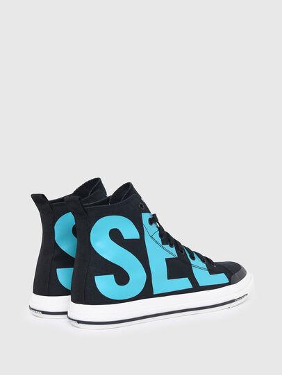 Diesel - S-ASTICO MID CUT, Negro/Azul marino - Sneakers - Image 3
