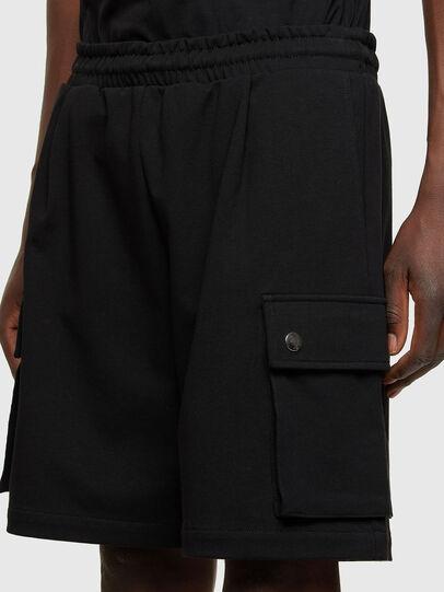 Diesel - P-PRONE, Negro - Shorts - Image 3
