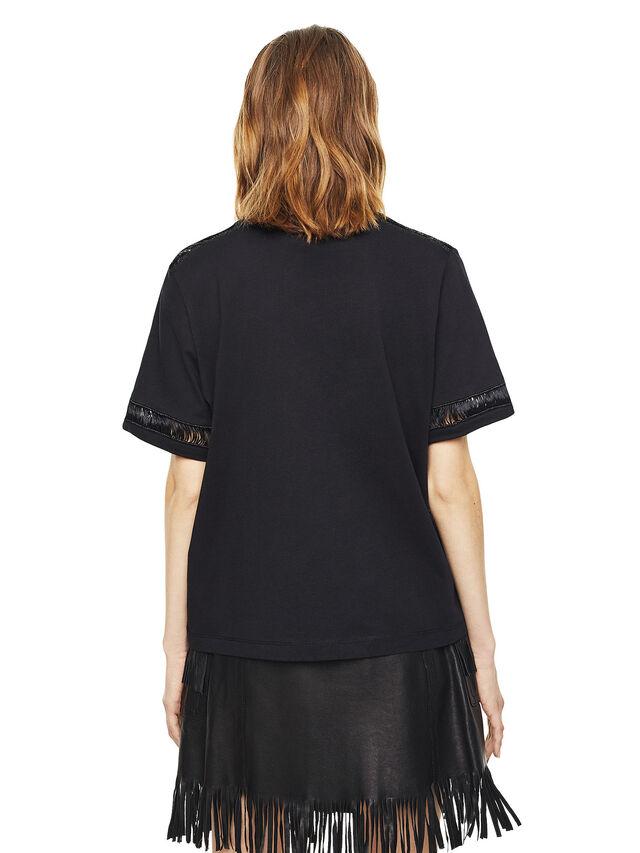 Diesel - TREENA, Negro - Camisetas - Image 2