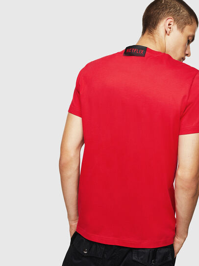 Diesel - LCP-T-DIEGO-LISBOA, Rojo - Camisetas - Image 3