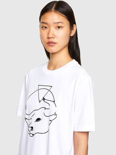 Diesel - CL-T-JUST-O, Blanco - Camisetas - Image 6