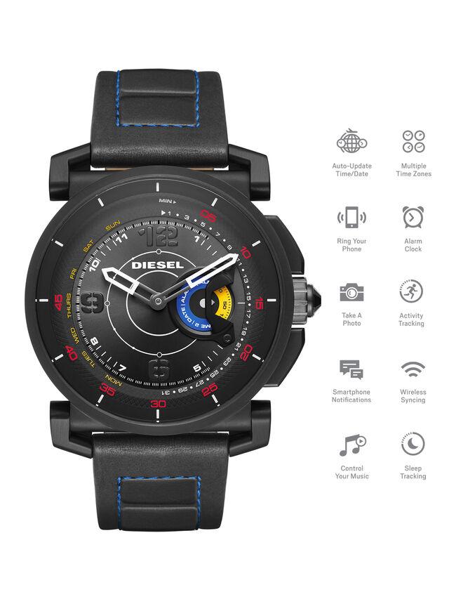 Diesel - DT1001, Negro - Smartwatches - Image 1