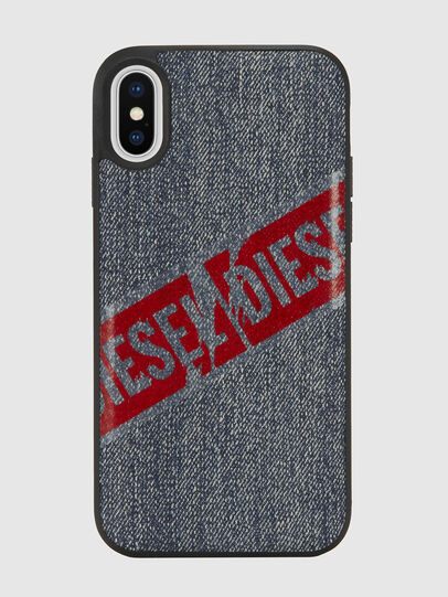 Diesel - VINTAGE DENIM IPHONE X CASE, Blue Jeans - Fundas - Image 2