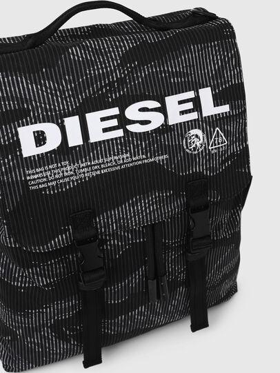Diesel - VOLPAGO BACK, Negro - Mochilas - Image 5
