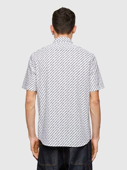 Diesel - S-RILEY-SHO-KA-C, Blanco - Camisas - Image 2