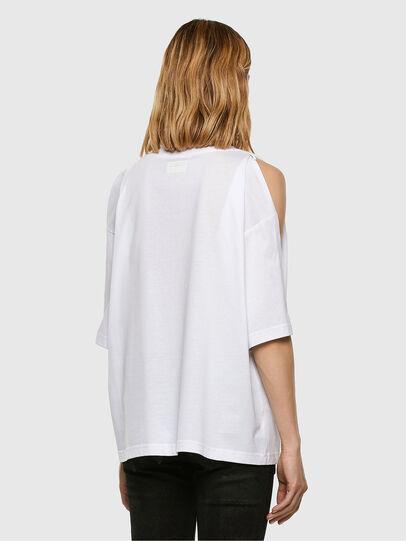 Diesel - T-RASSEL, Blanco - Camisetas - Image 7