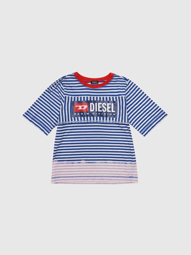 TJVANE, Azul/Blanco - Camisetas y Tops
