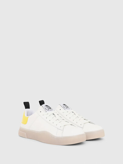 Diesel - S-CLEVER LOW LACE W, Blanco/Amarillo - Sneakers - Image 2