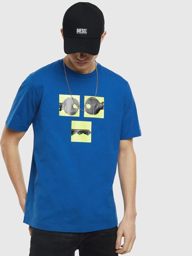 T-JUST-T23, Azul - Camisetas
