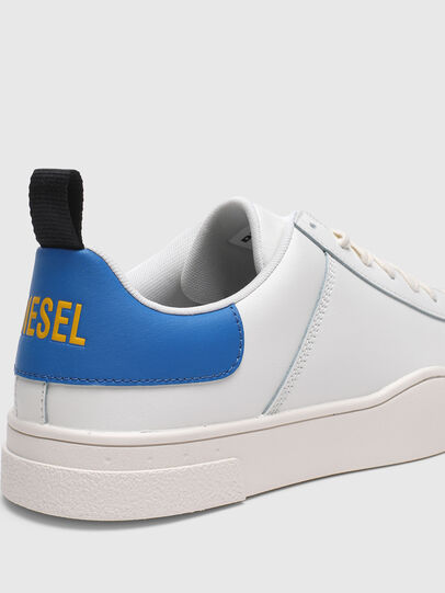 Diesel - S-CLEVER LOW LACE, Blanco/Azul marino - Sneakers - Image 4