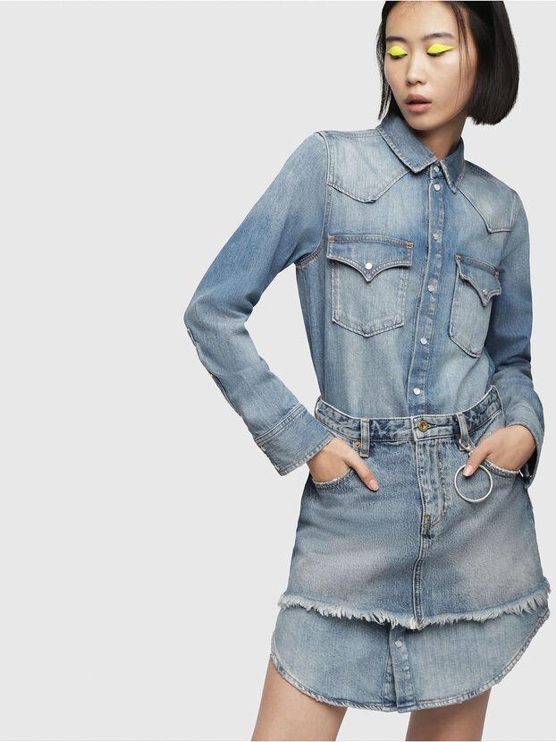 DE-DESY-P, Blue Jeans - Vestidos