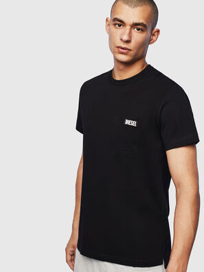 T-WORKY-SLITS, Negro - Camisetas