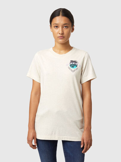 Diesel - T-LILLY-B1, Blanco - Camisetas - Image 1