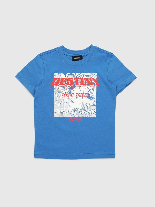 Diesel - TARRYB-R, Azul - Camisetas y Tops - Image 1