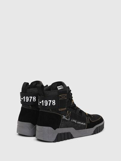 Diesel - S-RUA MID SP, Negro - Sneakers - Image 3