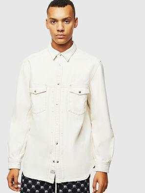 D-BANDY-B, Blanco - Camisas de Denim