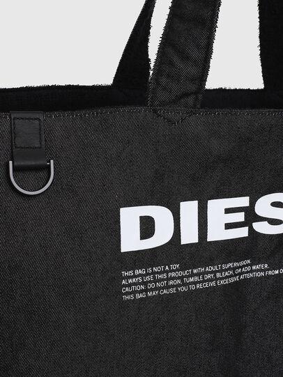 Diesel - D-THISBAG SHOPPER L, Negro - Bolsos Shopper y Al Hombro - Image 5