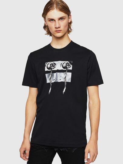 Diesel - TY-X1, Negro - Camisetas - Image 1