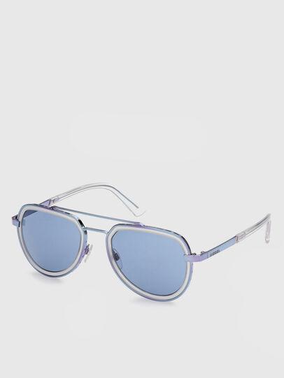 Diesel - DL0266, Azul - Gafas de sol - Image 2
