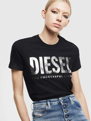 T-SILY-WX, Negro/Plata - Camisetas