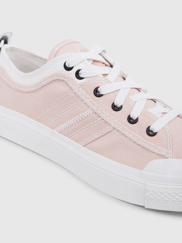 Diesel - S-ASTICO LOW LACE W, Rosa/Blanco - Sneakers - Image 5