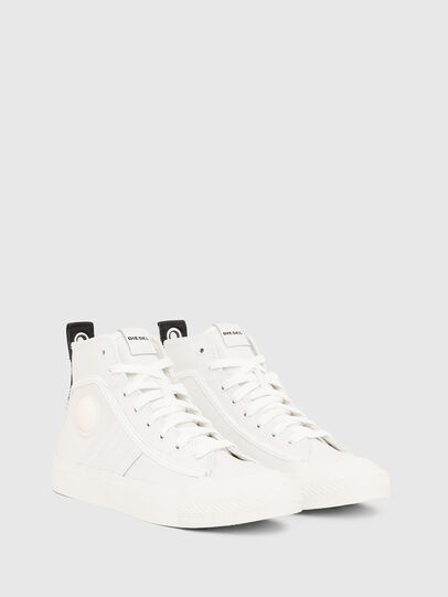 Diesel - S-ASTICO MID LACE W, Blanco - Sneakers - Image 2