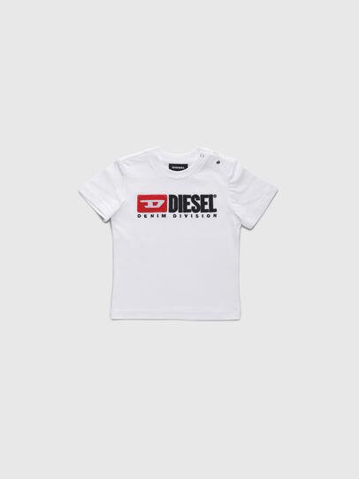 Diesel - TJUSTDIVISIONB, Blanco - Camisetas y Tops - Image 1
