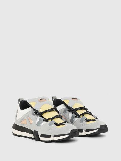 Diesel - H-PADOLA SL W, Gris/Blanco - Sneakers - Image 2