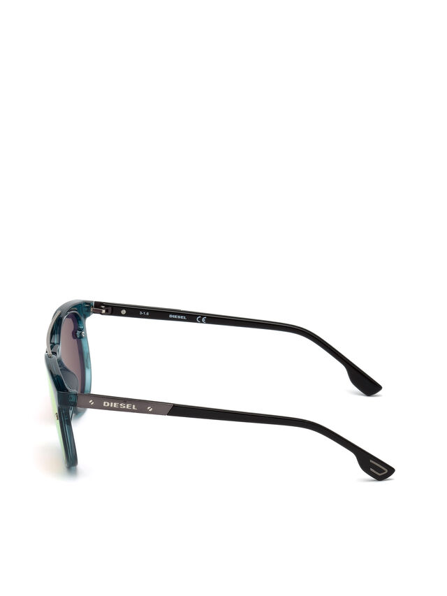 Diesel - DL0216, Azul/Naranja - Gafas - Image 3