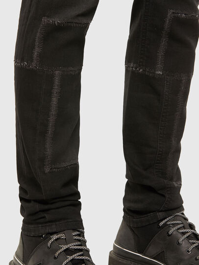 Diesel - Thommer JoggJeans 009IC, Negro/Gris oscuro - Vaqueros - Image 5