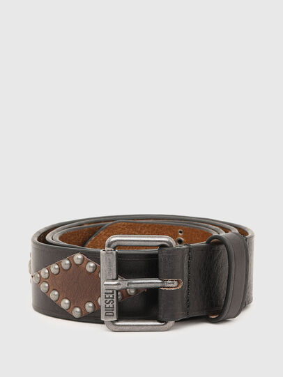 Diesel - B-ARREL, Negro - Cinturones - Image 1
