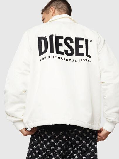 Diesel - J-AKIO-A, Blanco - Chaquetas - Image 2