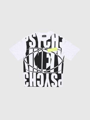 TLUCASSLY1 OVER, Blanco/Negro - Camisetas y Tops