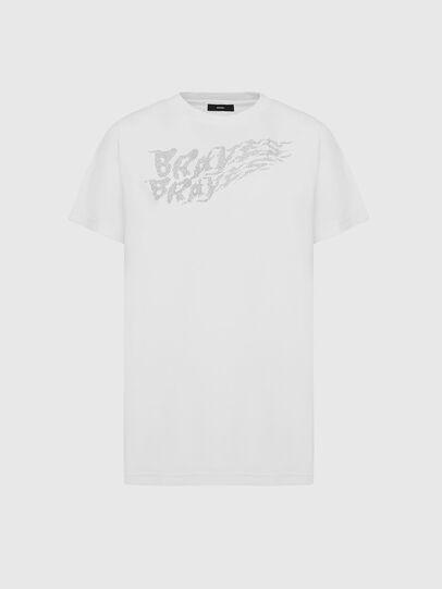 Diesel - T-DARIA-E5, Blanco - Camisetas - Image 1