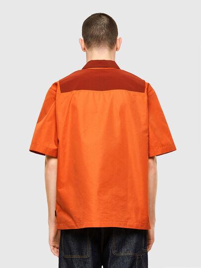 Diesel - S-GUNN, Naranja - Camisas - Image 2