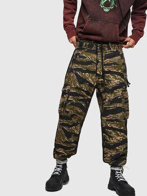 P-LUZAVIC-TIGERCAM, Verde Militar - Pantalones