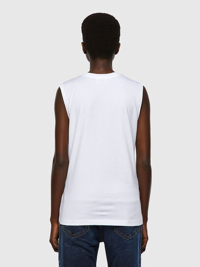 Diesel - T-SILESS, Blanco - Camisetas - Image 2