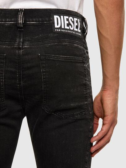 Diesel - D-Reeft JoggJeans 009FY, Negro/Gris oscuro - Vaqueros - Image 5