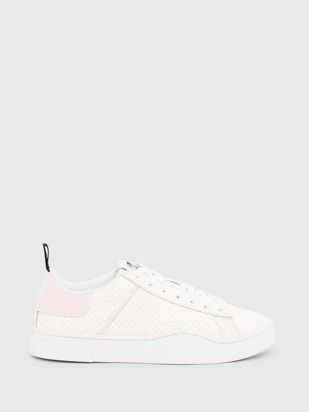 S-CLEVER LOW LACE W, Blanco/Rosa - Sneakers