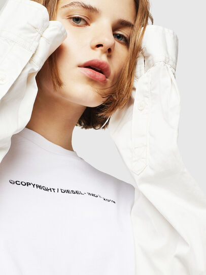 Diesel - T-SILY-WR, Blanco - Camisetas - Image 5