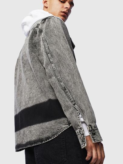 Diesel - S-JESSY-A, Negro - Camisas - Image 6