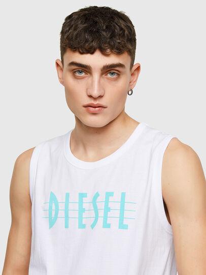 Diesel - T-OPPY, Blanco - Camisetas - Image 3